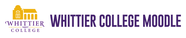 Whittier College Moodle
